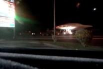 Vídeo mostra suposto disco voador levado para base militar americana
