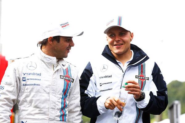Massa e Bottas apostam em mudanças para melhorar Williams