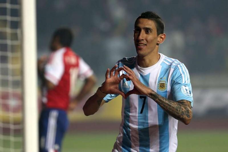 Argentina brinca de fazer gol, aplica 6 no Paraguai e faz final com Chile