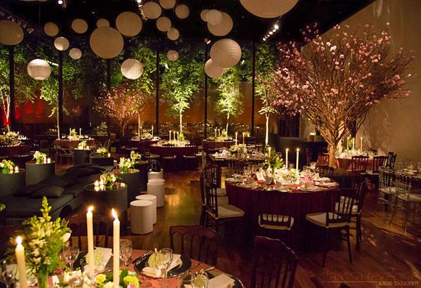 Noiva que assume decoraç u00e3o faz melhor e economiza mais Notibras -> Decoração Para Festa De Casamento Em Sitio A Noite