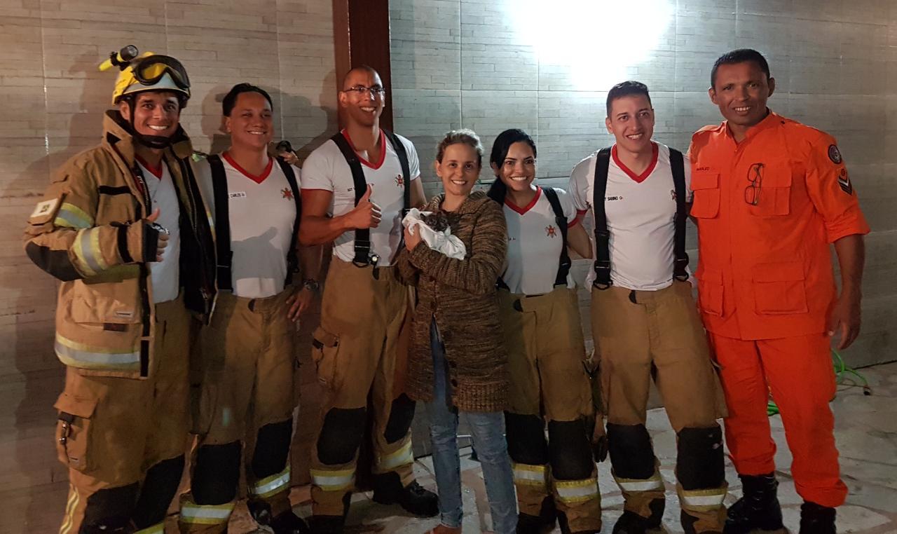 foto de Em missão inusitada bombeiros salvam as vidas de dois